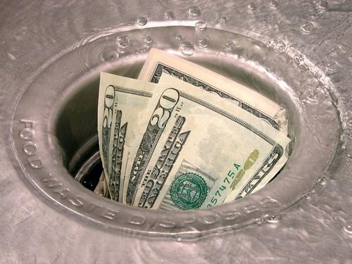 Деньги в трубу