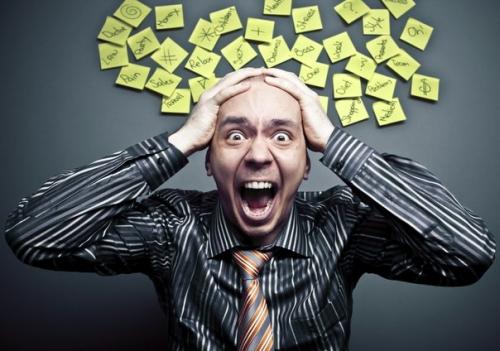 Стресс на работе - повод задуматься об отпуске